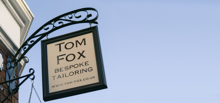 Tom Fox Hanging Sign
